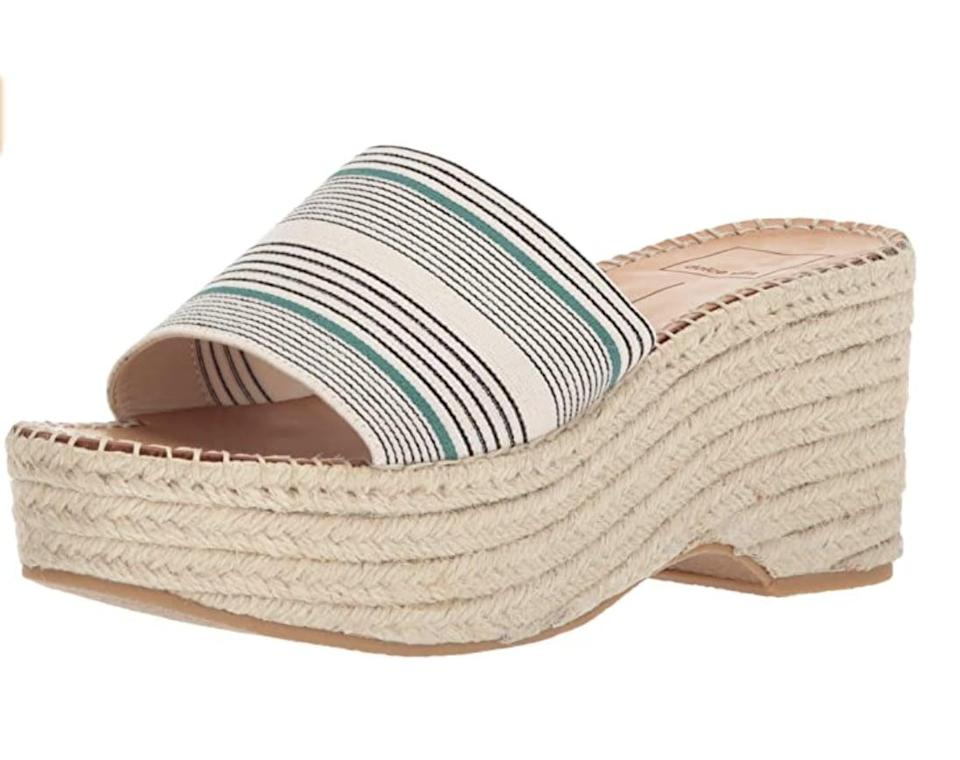 <p>Show off these <span> Dolce Vita Lada Wedge Sandals </span> ($34-$139) with your favorite midi dress.</p>
