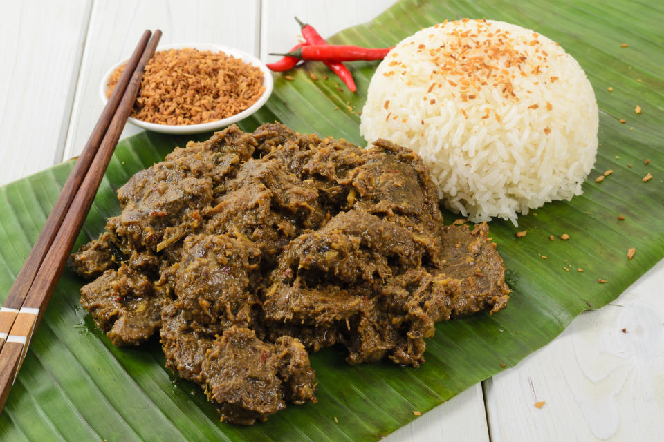 Malaysian beef rendang. (PHOTO: Getty Images)