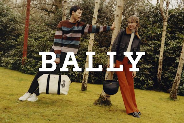 <p><strong>Models:</strong> Edie Campbell and Wang Cheng Ming<br><strong>Photographer:</strong> Colin Dodgson <br>(Photo: Courtesy of Bally) </p>