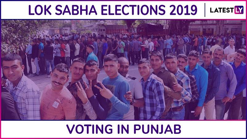 Punjab Lok Sabha Elections 2019: Phase 7 Voting Ends in Amritsar, Jalandhar, Ludhiana, Patiala And 9 Other Parliamentary Constituencies; 58.81% Voter Turnout Recorded