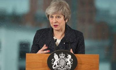 Theresa May says she is 'not proposing' to scrap Brexit backstop