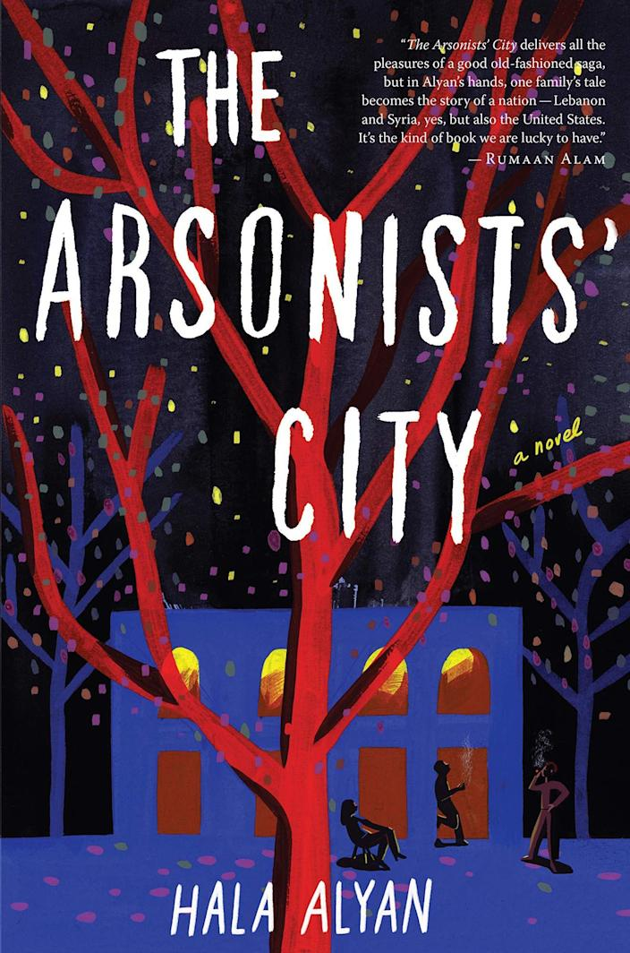 <p><em>The Arsonists' City</em> — about three generations of the Nasr family — feels revolutionary in its freshness. Mazna Nasr, the novel's matriarch, grew up in Damascus. She meets Idris, a Beiruti med student, during the early days of the Lebanese civil war, and they marry and seek asylum in California; decades later they reconvene their adult children in present-day Beirut and prepare to sell their ancestral home. The book has all the elements we expect from a family saga, but set against the backdrop of Lebanon's long, sad history, the narrative stakes are so much higher. (March 9)</p>