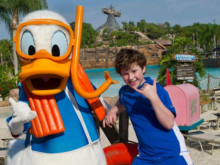 disney water parks characters nolan gould