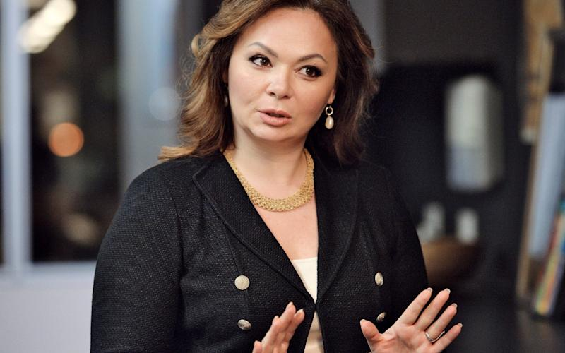 Natalia Veselnitskaya, the Russian lawyer at the centre of the past week's revelations - Credit: Kommersant