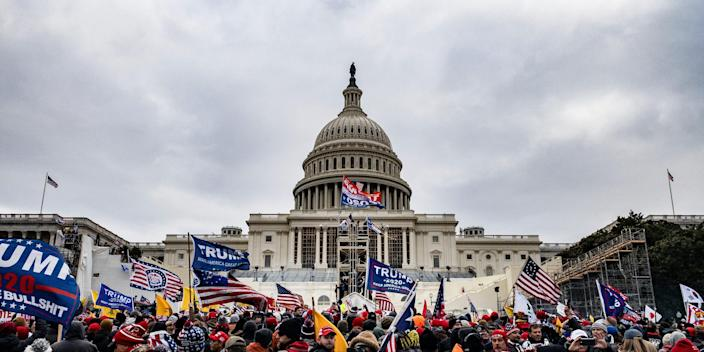 capitol siege trump supporters