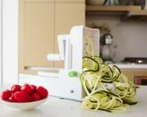 "<p>Makes any plant (from zucchinis to sweet potatoes) into ribbons, a perfect replacement for pasta! <a href=""http://inspiralized.com/product/the-inspiralizer/?ref=hbfit"" rel=""nofollow noopener"" target=""_blank"" data-ylk=""slk:The Inspiralizer"" class=""link rapid-noclick-resp"">The Inspiralizer</a> ($50)</p>"