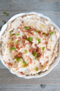 "<p>Swap cauliflower for potatoes, and you'll still get the same texture and flavor you're craving alongside your turkey leg. This recipe from <a href=""https://www.heyketomama.com/keto-mashed-cauliflower/"" rel=""nofollow noopener"" target=""_blank"" data-ylk=""slk:Hey Keto Mama"" class=""link rapid-noclick-resp"">Hey Keto Mama</a> is a great companion for Thanksgiving dinner, and you can dress it up with whatever you like—bacon, spices, herbs, and more.</p>"