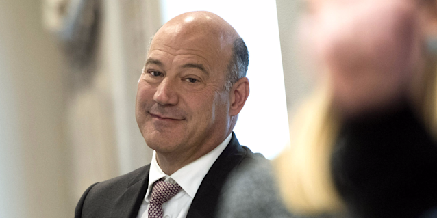 Gary Cohn had an awkward moment when CEOs appeared to challenge one of the biggest arguments for the GOP tax plan.