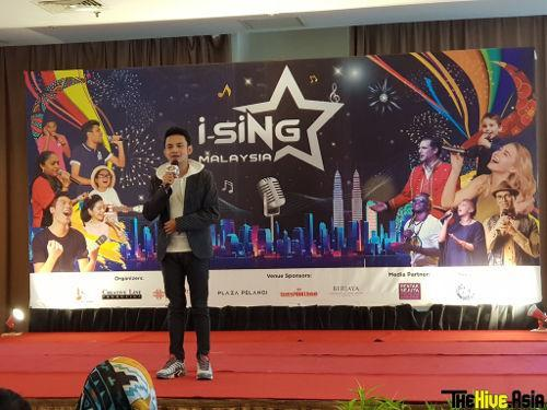 """Syafeek Ikhwan, winner of """"i-SiNG World Finals 2018"""" that was held in Paris, showed off his singing skills with the song """"Jampi"""" at yesterday's press conference."""