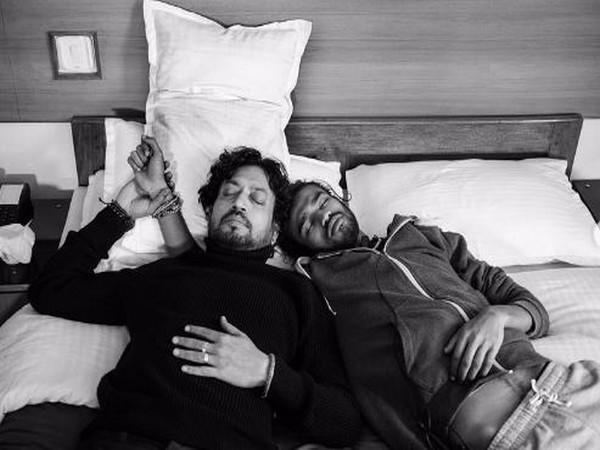 Late actor Irrfan Khan with son Babil
