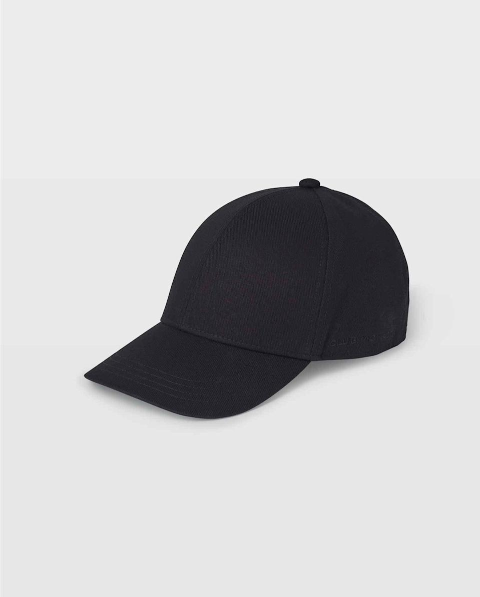 <p>You can't go wrong with this classic <span>Club Monaco Cotton Twill Baseball Cap</span> ($40).</p>