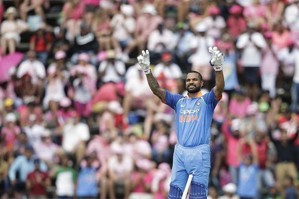 Shikhar Dhawan has been India's most explosive left-handed opener in ODI cricket