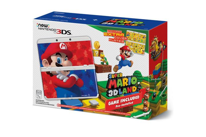 NEW NINTENDO 3DS WITH SUPER MARIO 3D LAND