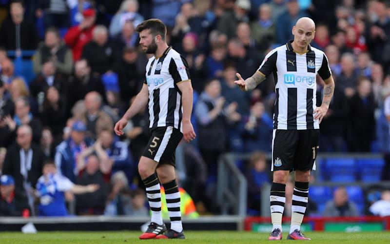 Newcastle have gone three league games without victory - Rex Features