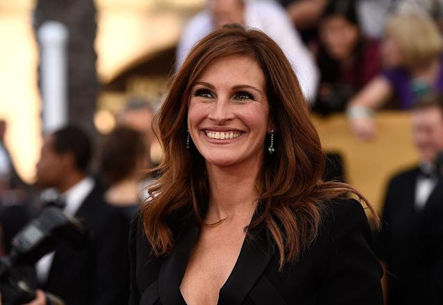 Julia Roberts was named the most beautiful woman in the world this year by <em>People</em> magazine. (Photo: Getty Images)