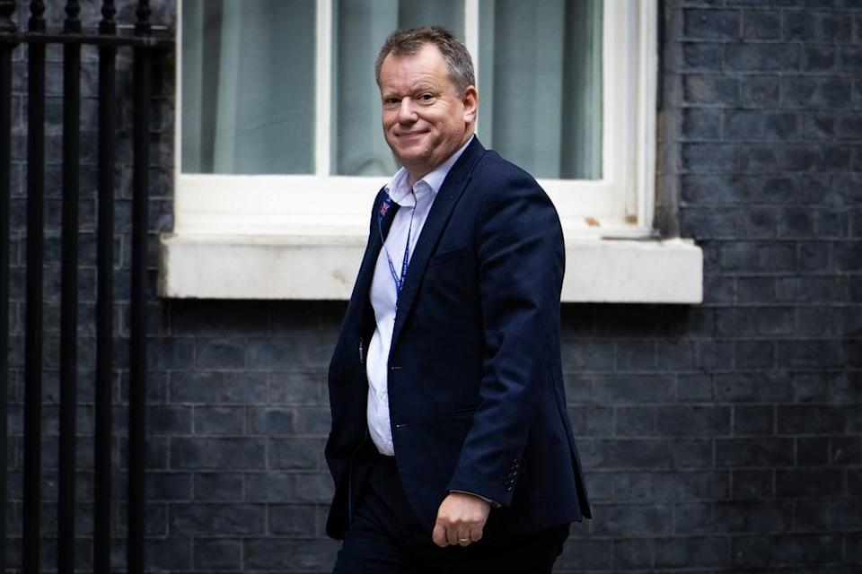 Brexit Minister Lord Frost has criticised the effects of the NI protocol which he negotiated (Aaron Chown/PA) (PA Wire)