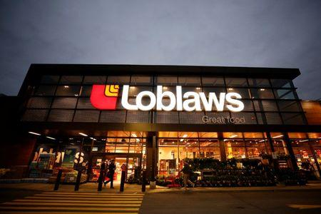 FILE PHOTO: A Loblaw supermarket is pictured in Ottawa, Ontario, Canada, November 14, 2017. REUTERS/Chris Wattie