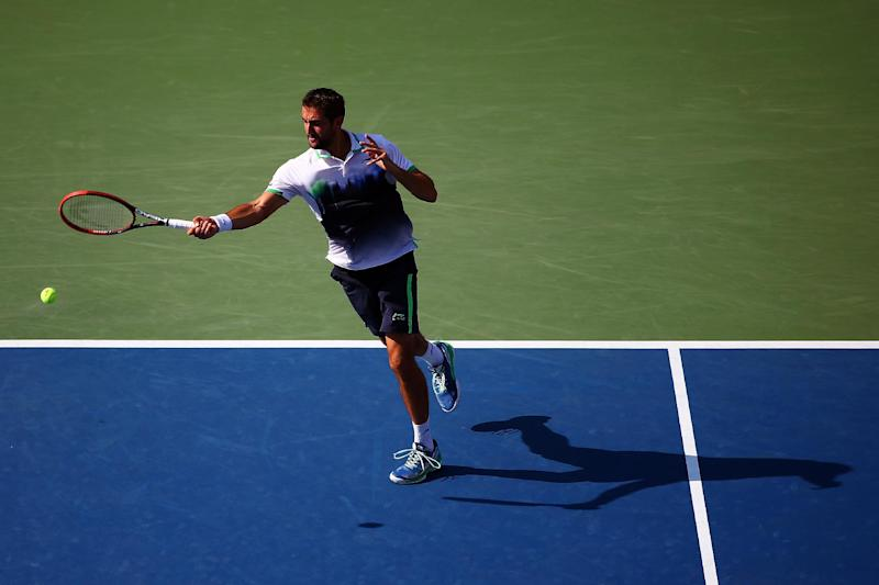Tennis - Cilic beats Berdych to reach US Open semi-finals