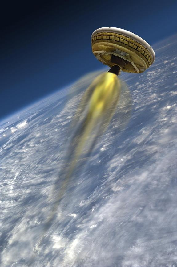 Winds Push NASA 'Flying Saucer' Test Launch to Late June