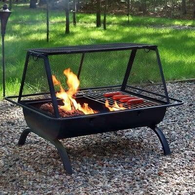 <p>Whether you want to grill or sit around a warm fire, you can do both thanks to this <span>Northland Wood Burning Fire Pit</span> ($155, originally $186).</p>