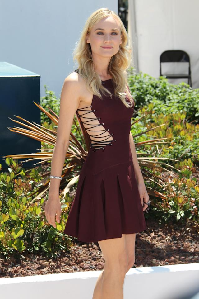 "<div class=""caption-credit""> Photo by: Tony Barson/FilmMagic</div><div class=""caption-title""></div><b>Worst</b>: Diane Kruger's Versus dress would be perfect for Paris Hilton's appearance at a local Ren Faire."