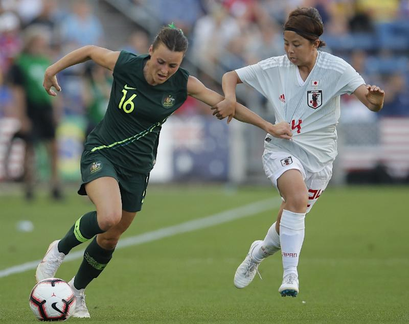 Australia's Hayley Raso has battled back to fitness after breaking her back