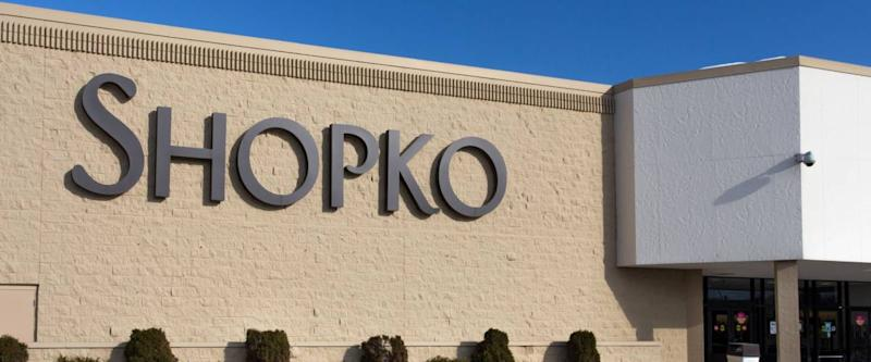 ROCHESTER, MN/USA - JANUARY 19, 2015: Shopko retail store and sign. Shopko is a chain of retail stores in the American midwest.