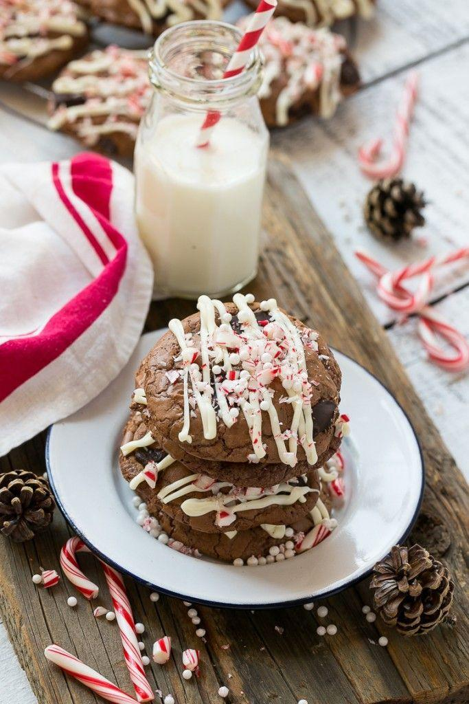"""<p>With <em>one pound </em>of chocolate in each batch of these cookies, they're definitely a holiday decadence.</p><p><strong>Get the recipe at <a href=""""https://www.dinneratthezoo.com/peppermint-bark-cookies-and-tips-for-a-holiday-baking-party/"""" rel=""""nofollow noopener"""" target=""""_blank"""" data-ylk=""""slk:Dinner at the Zoo"""" class=""""link rapid-noclick-resp"""">Dinner at the Zoo</a>.</strong></p>"""
