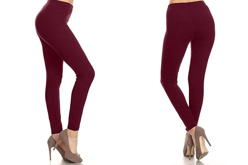 Amazon Customers Are Replacing Their Entire Wardrobes for These $11 High-Waisted Leggings