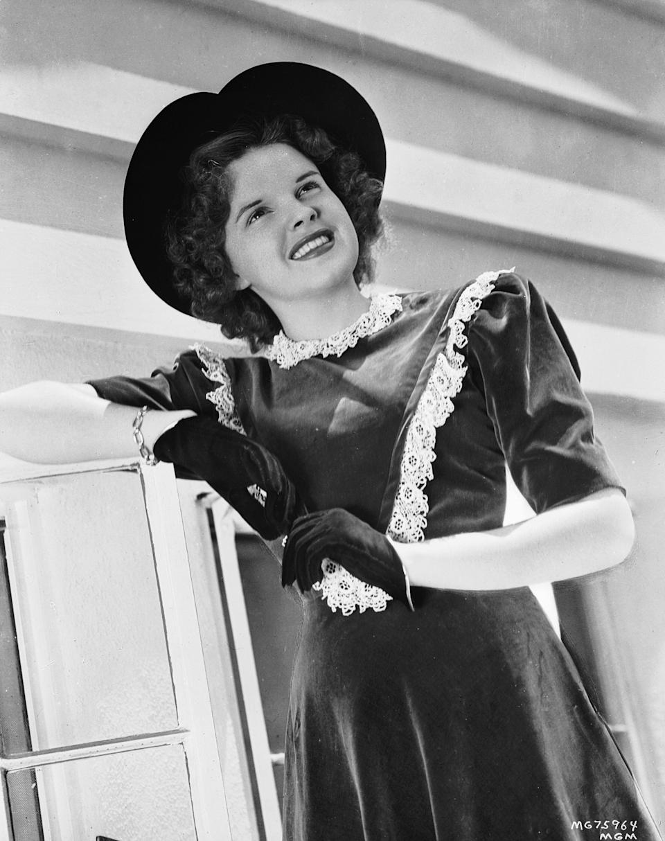 Garland was promoted as an all-American girl by MGM.