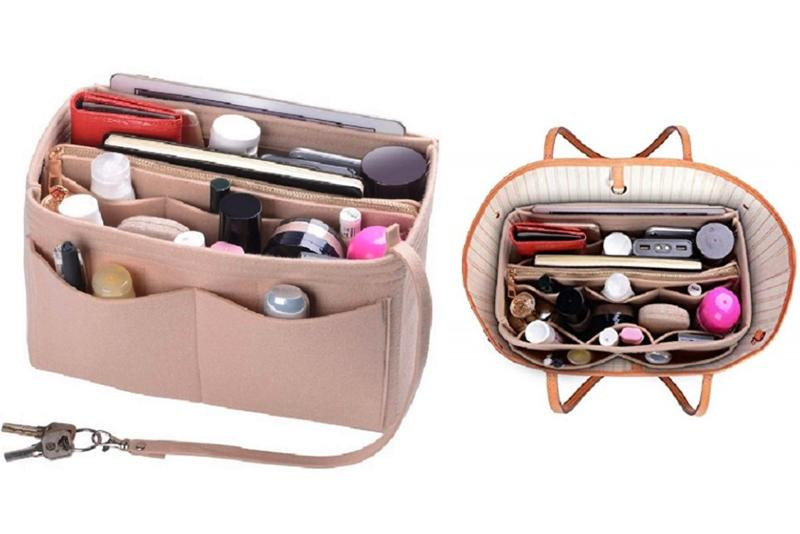 Amazon shoppers are raving about this purse organizer.