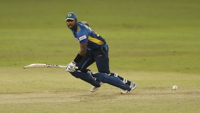 Sri Lanka's opener Avishka Fernando laid the foundation of home team's victory with a fine knock of 76 runs off 98 balls. He anchored the innings well in the chase. AP