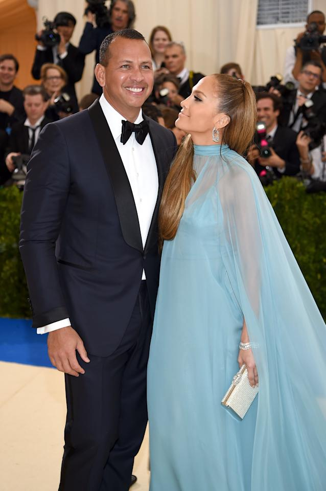 "<p>The location of Jennifer and Alex's nuptials still remains a mystery, but the former <a href=""https://people.com/sports/alex-rodriguez-jennifer-lopez-exes-at-wedding?xid=popsugar"" target=""_blank"" class=""ga-track"" data-ga-category=""Related"" data-ga-label=""https://people.com/sports/alex-rodriguez-jennifer-lopez-exes-at-wedding?xid=popsugar"" data-ga-action=""In-Line Links"">baseball player hinted at a ""long flight</a>"" in a recent interview.</p>"