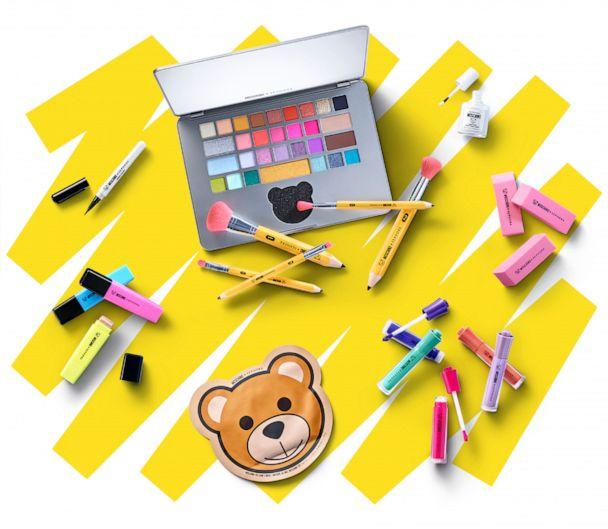 PHOTO: Moschino and Sephora launched a makeup collection that looks like school supplies. (Moschino and Sephora)