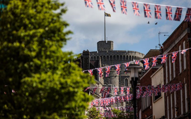 Preparations in Windsor for the Royal wedding  - Getty Images Europe