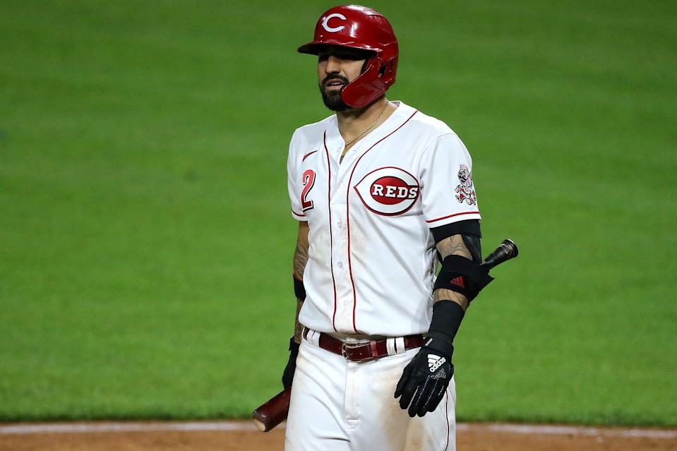 Castellanos joined the Reds before the 2020 season.