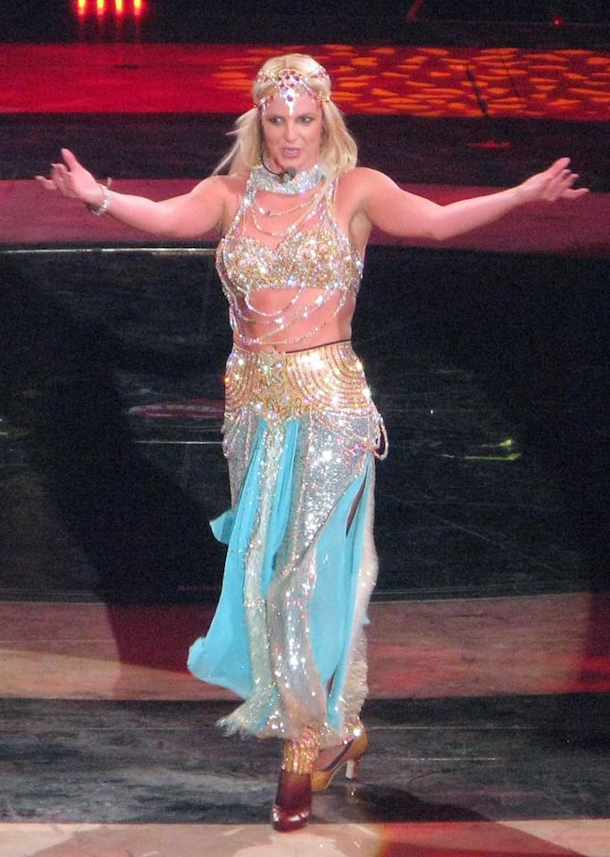 """Britney Spears, on the other hand, is having a happier love life. Sources close to the singer confirmed this week that she's dating her agent, Jason Trawick. See for yourself if Spears is smiling when she makes her just-announced return to North American arenas in August. BB/<a href=""""http://www.splashnewsonline.com"""" target=""""new"""">Splash News</a> - June 10, 2009"""