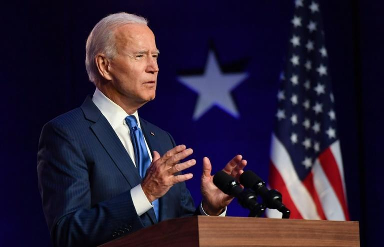 Democratic presidential nominee Joe Biden calls for unity as he finds himself on the brink of winning the White House