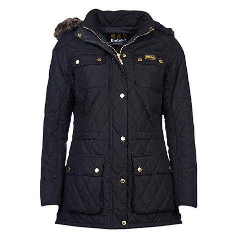 "<p>According to John Lewis, the company experienced a rise in searches for the Barbour jacket back in February. And surely it's no coincidence that Prince Harry's girlfriend Meghan Markle was photographed in the item complete with Hunter wellies while staying in London… <em><a rel=""nofollow"" href=""https://www.johnlewis.com/barbour-international-enduro-quilted-jacket/p2779281?colour=Black"">John Lewis</a>, £199</em> </p>"