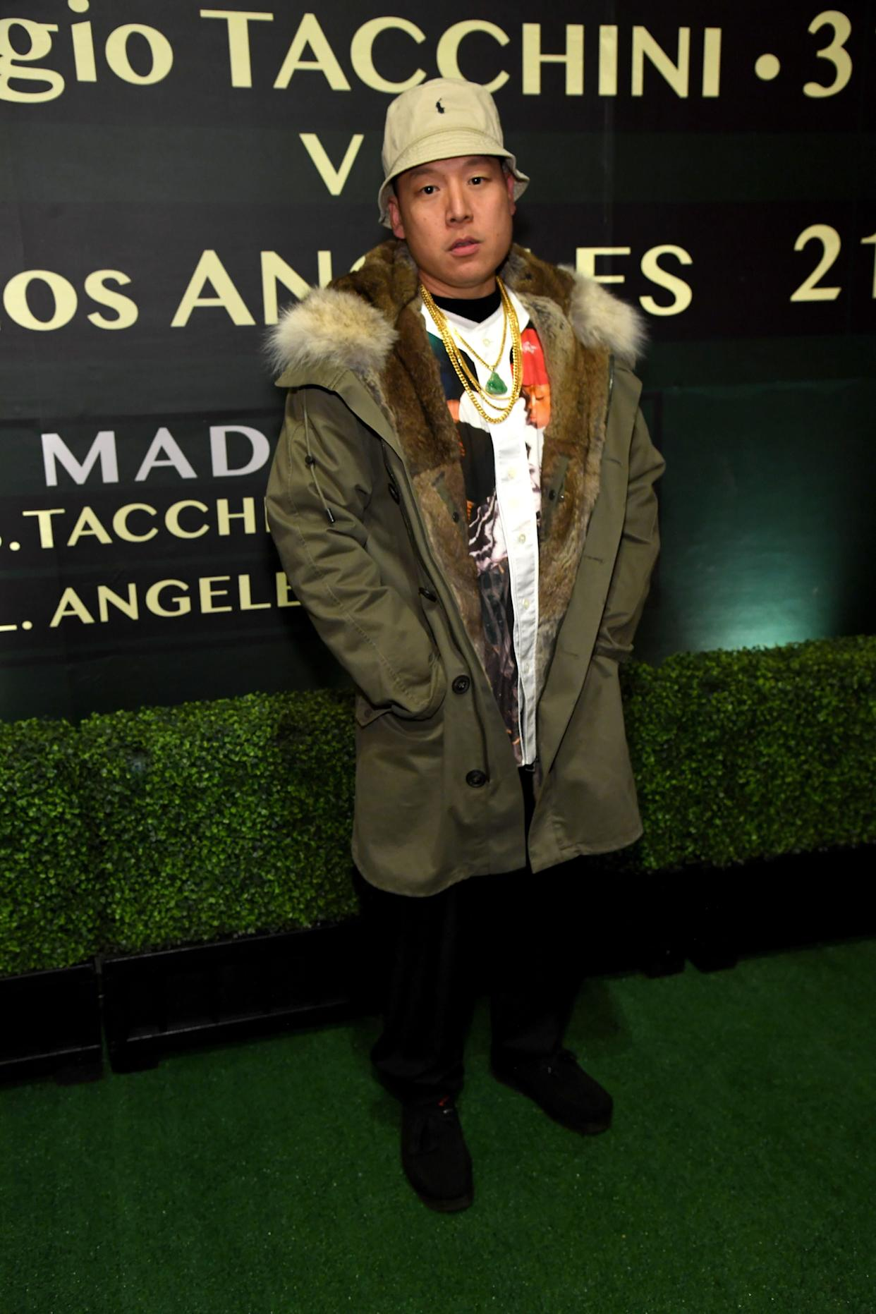 Eddie Huang in Los Angeles in February. (Photo: Kevin Mazur via Getty Images)