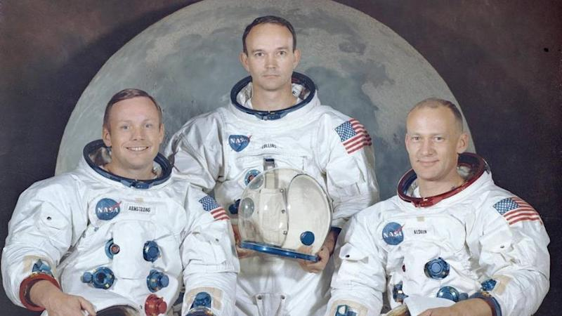 Buzz Aldrin, Micheal Collins and Neil Armstrong. Image credit: NASA