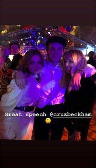 Photo credit: Geri Halliwell - Instagram