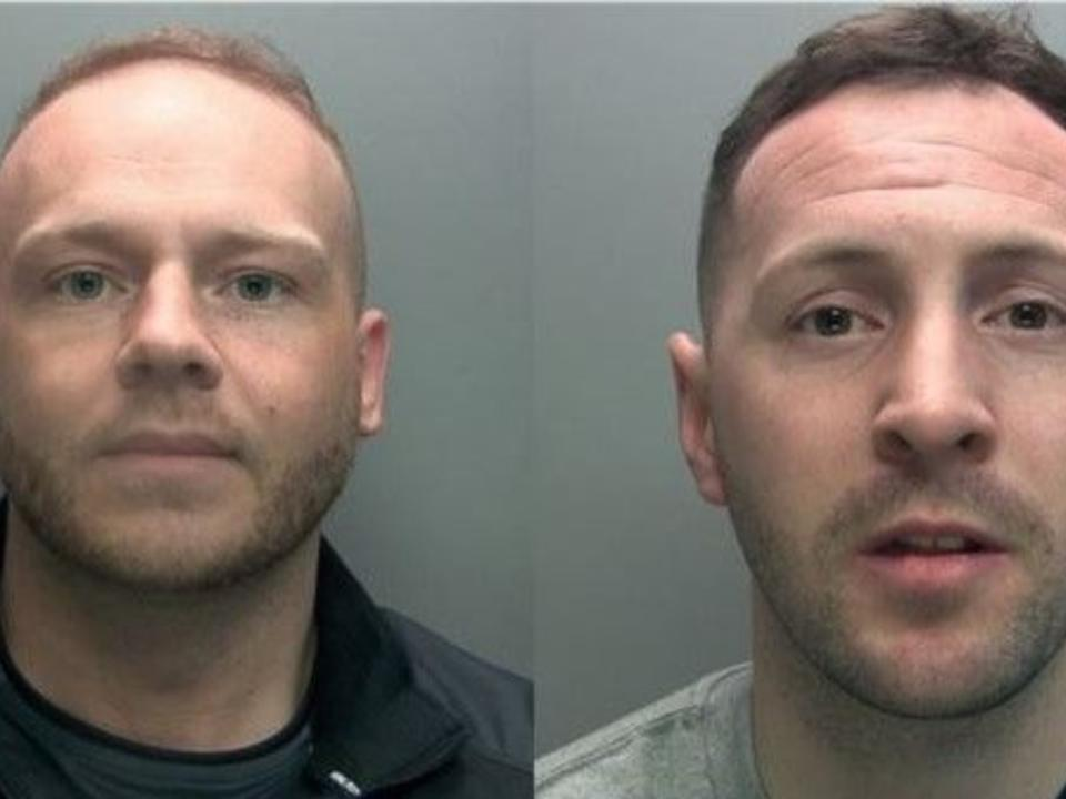 Police want to speak to Kane Hull, 28, and Liam Porter, 32. (Cumbria Police)