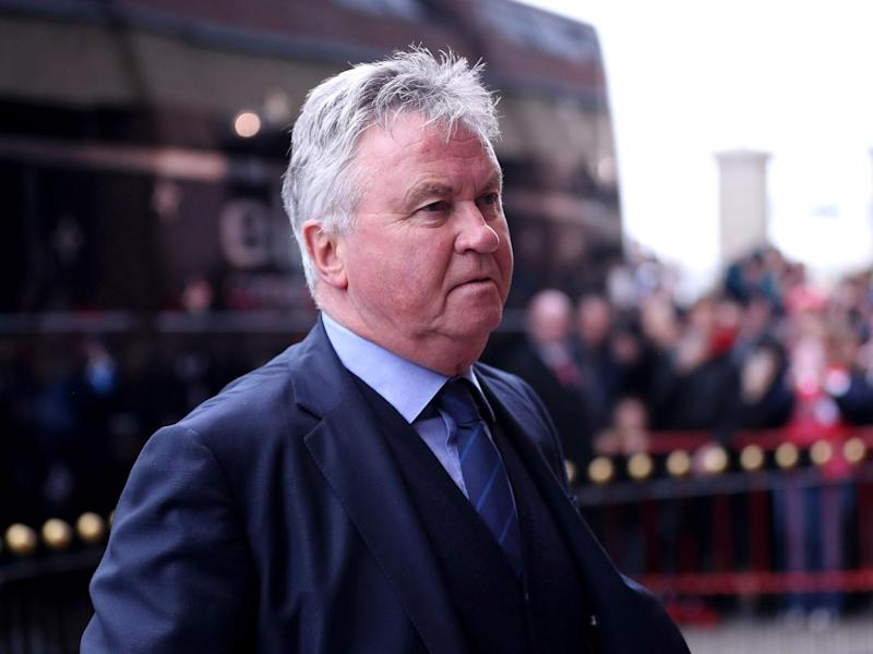 Guus Hiddink claims he turned down the chance to manage Leicester: Getty