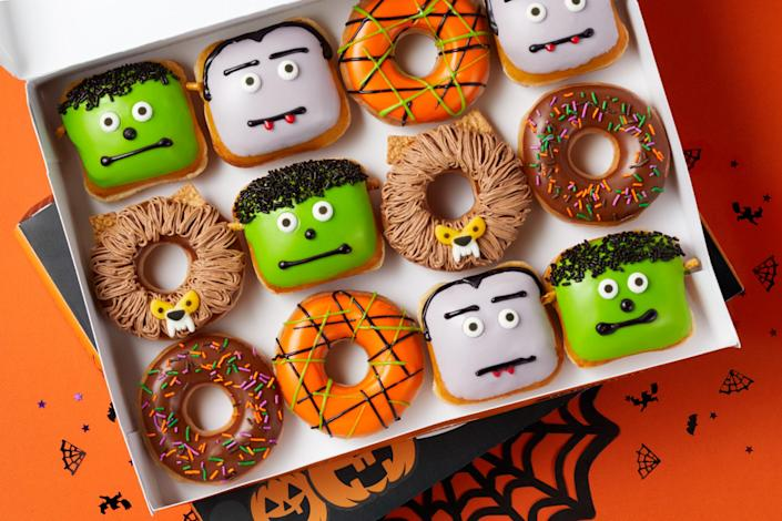 Sweet and scary is the new sweet and savory. (Krispy Kreme)