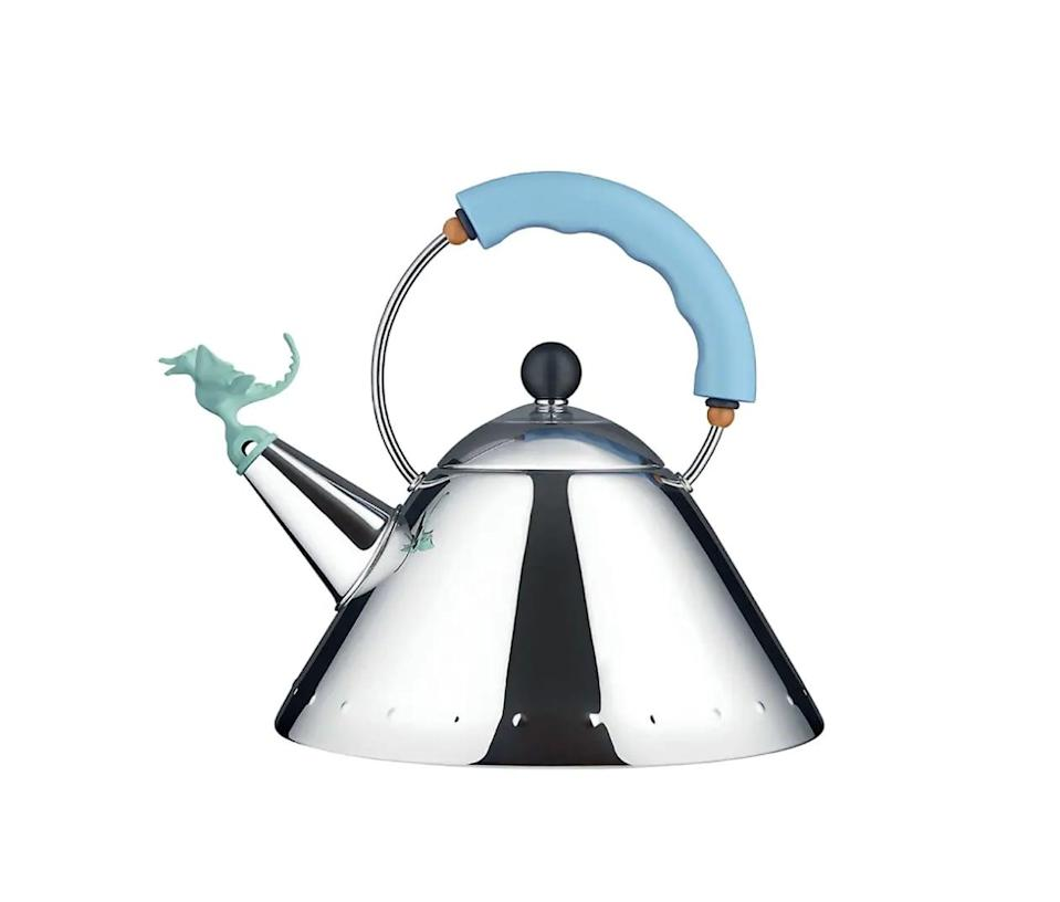 <p>You'll love putting this <span>Alessi Tea Rex Kettle</span> ($220) on display. Treat yourself!</p>