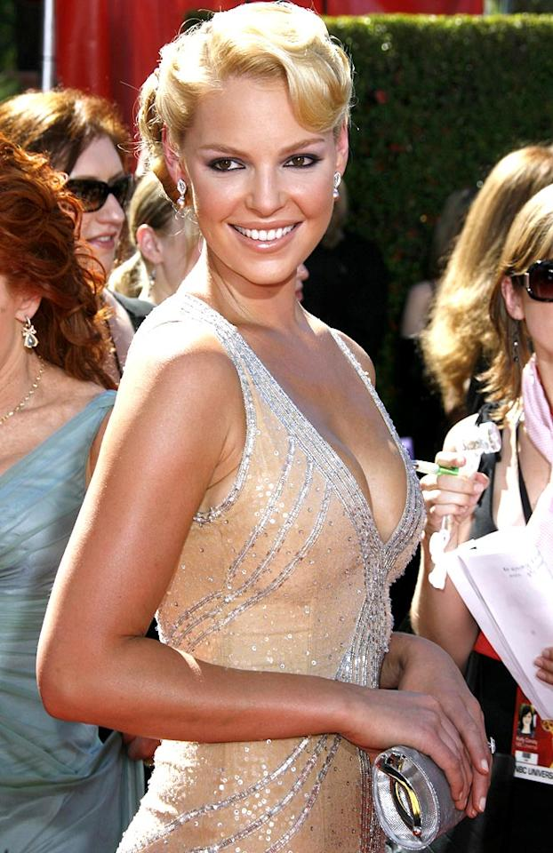 """Expect Katherine Heigl to be hilarious in """"Knocked Up."""" Steve Granitz/<a href=""""http://www.wireimage.com"""" target=""""new"""">WireImage.com</a> - August 27, 2006"""