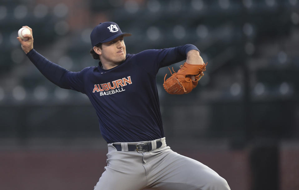 Detroit Tigers pitcher Casey Mize is an opening day-type starter with a higher ceiling. (AP)