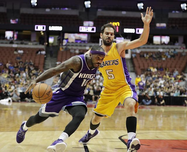 The Kings added Ty Lawson to fill their hole at point guard. (AP)