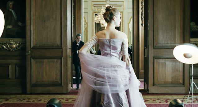 Daniel Day-Lewis and Vicky Krieps in the Oscar-nominated <em>Phantom Thread.</em>(Photo: Focus Features /Courtesy Everett Collection)